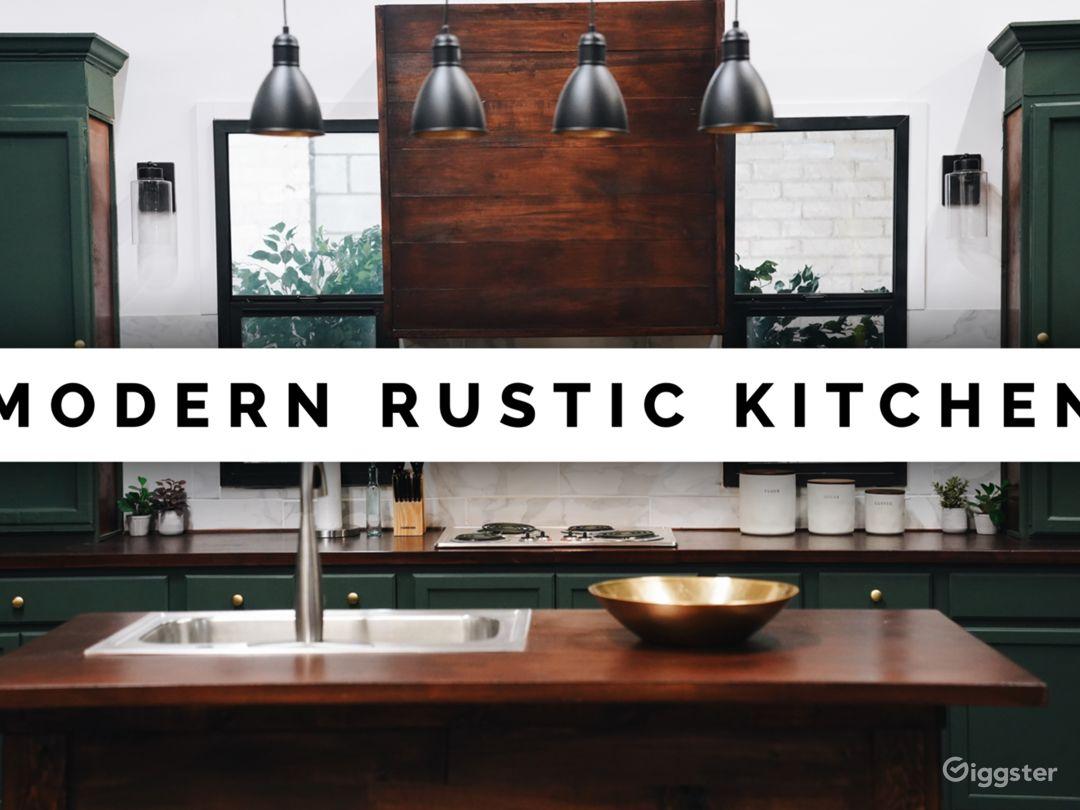 Beautiful Modern Kitchen Set Photo 1