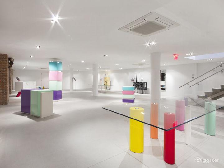 Chelsea 8,000 sq/ft Striking Flexible Showroom Photo 3