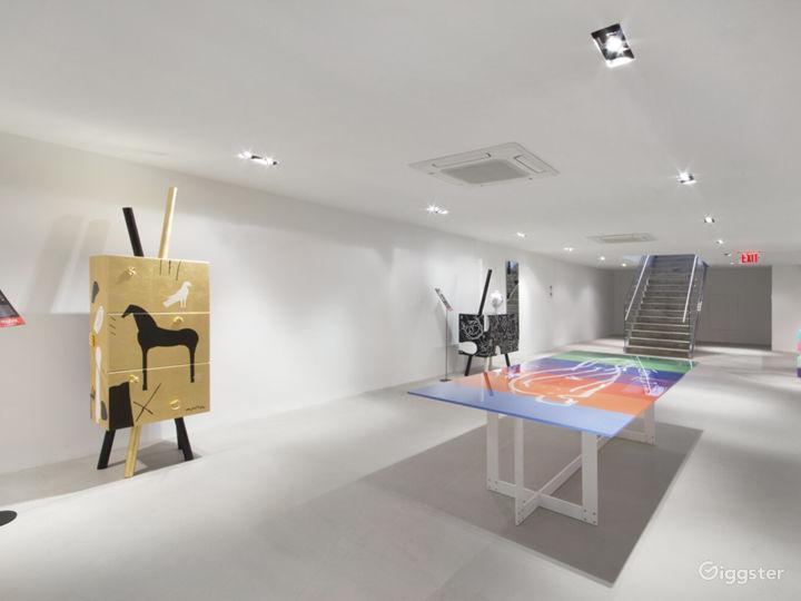 Chelsea 8,000 sq/ft Striking Flexible Showroom Photo 2