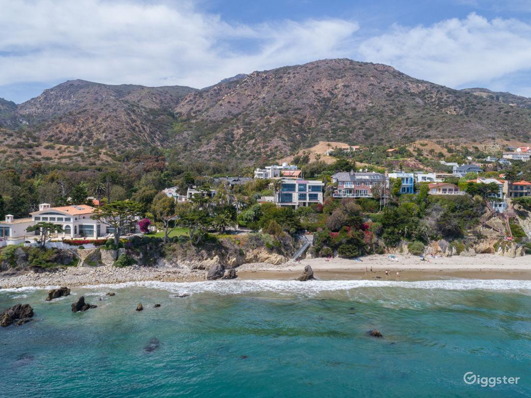 Located just above the best sandy beach in Malibu