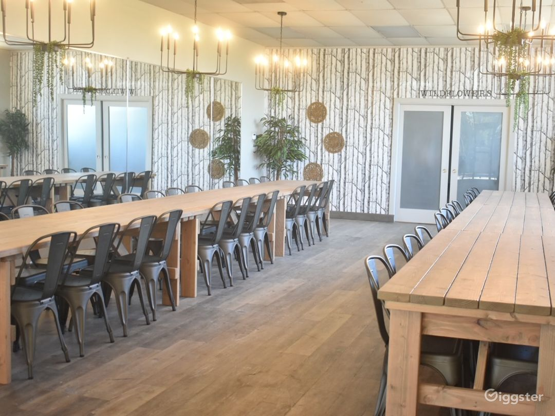 Sophisticated Boho Event Space Photo 1