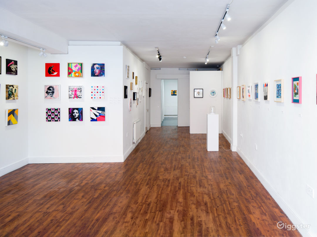 Bright and Versatile Gallery and Event space in London Photo 1