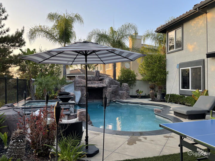Traditional Modernized Home with Resort Backyard Photo 2