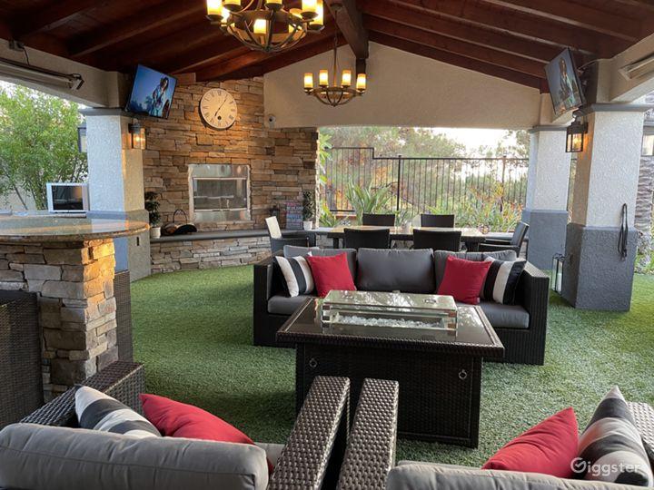 Traditional Modernized Home with Resort Backyard Photo 3