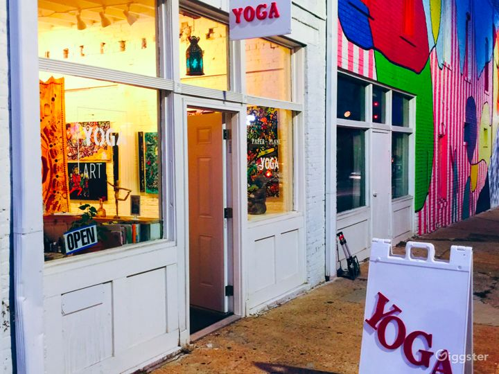 Yoga Studio and Art Gallery in College Park Photo 4