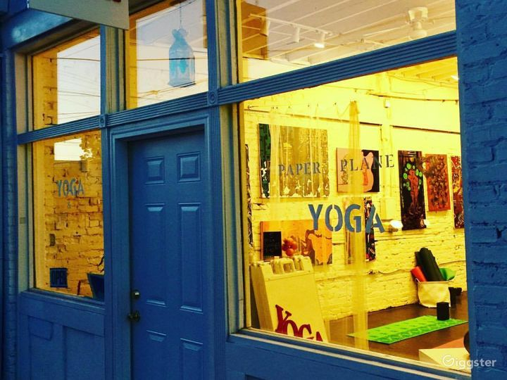 Yoga Studio and Art Gallery in College Park Photo 2