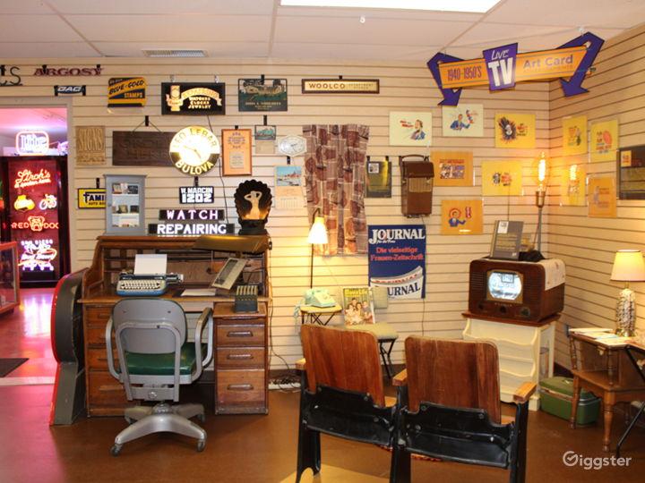 TV room/office.