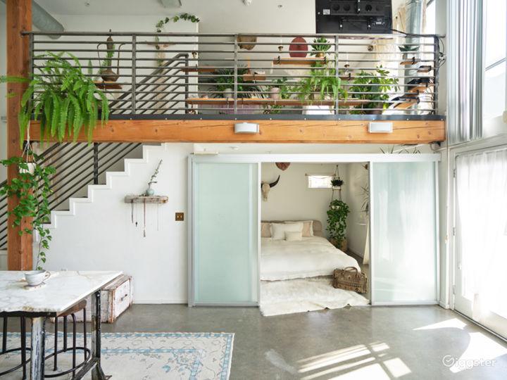Modern Bohemian Loft with Caravana lounge Photo 3