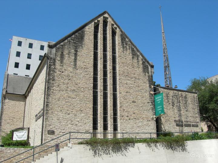 Modern Church Sanctuary
