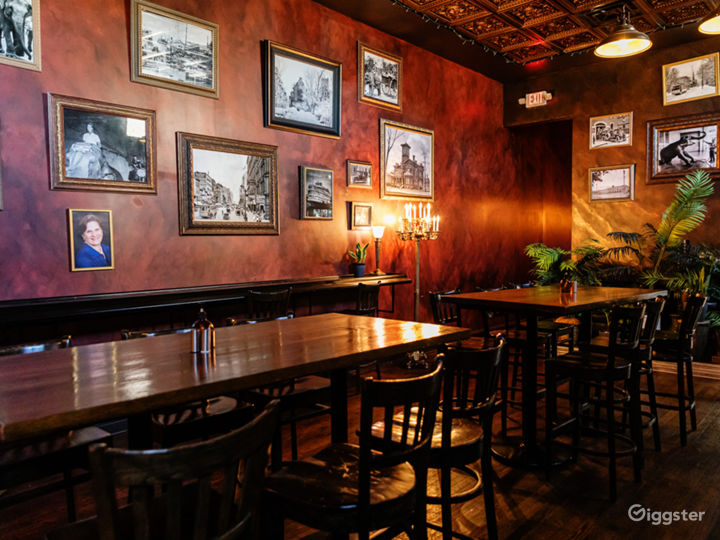 Elegant Bar with Brick Walls for Events in Detroit Photo 2