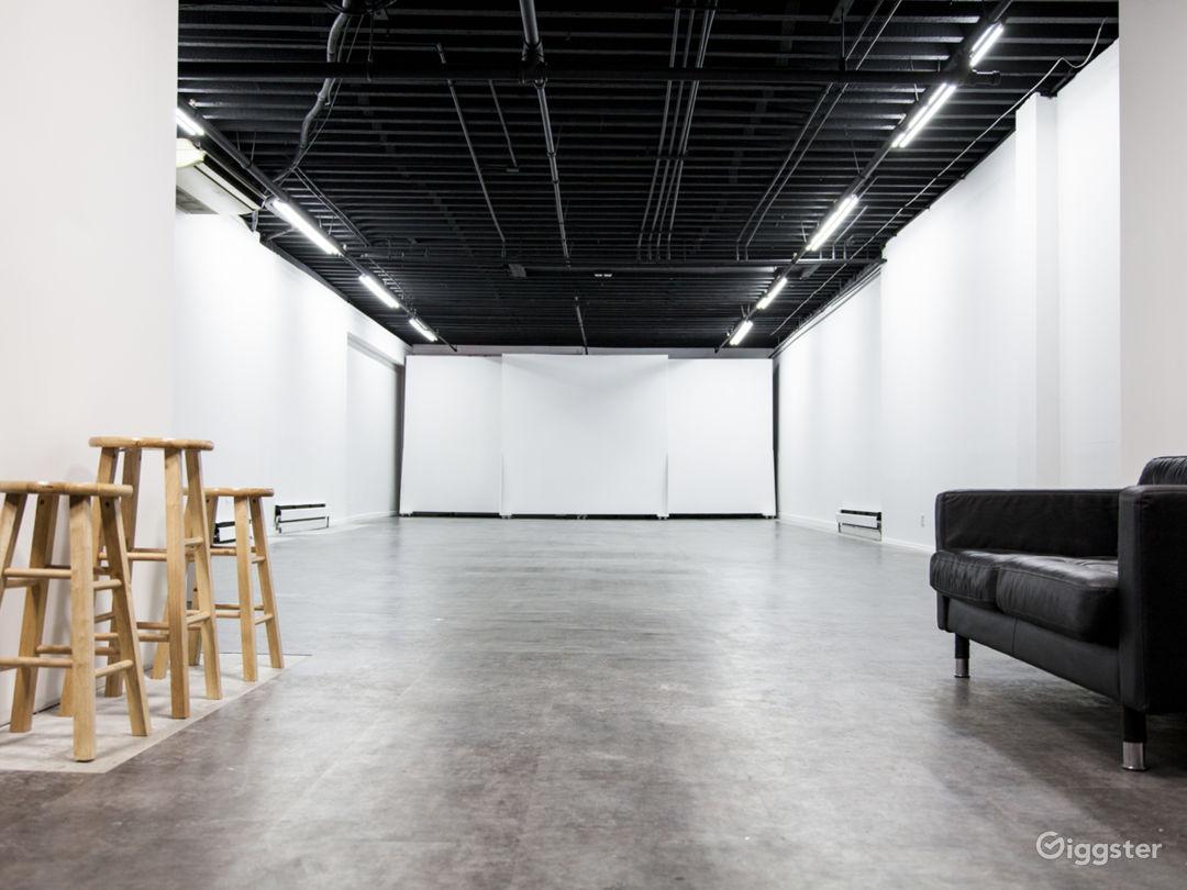 Versatile Studio with Patio Photo 1