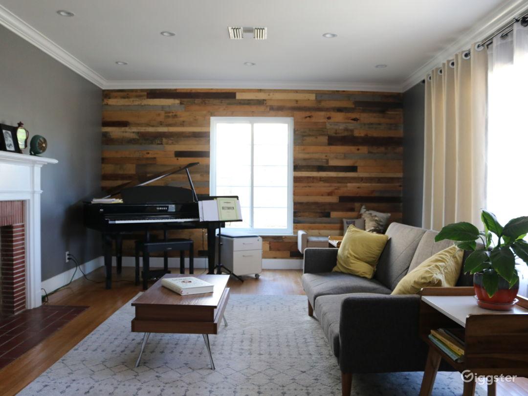 Music Room (Bedroom 2 staged)