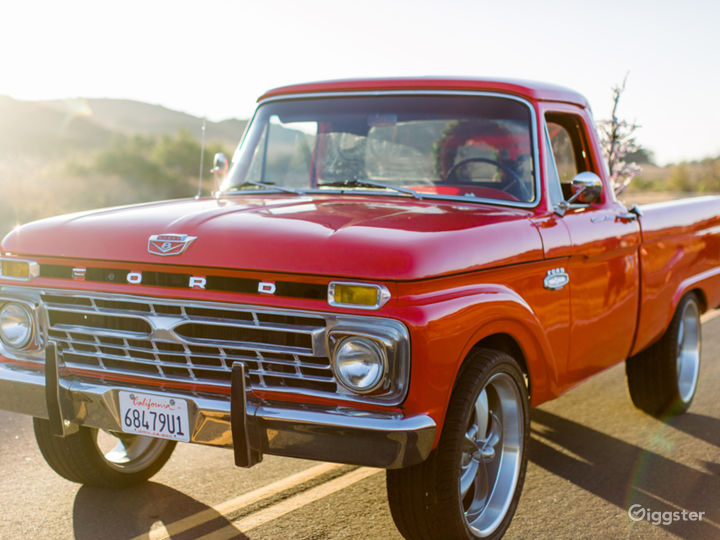 1965 Red Ford F100