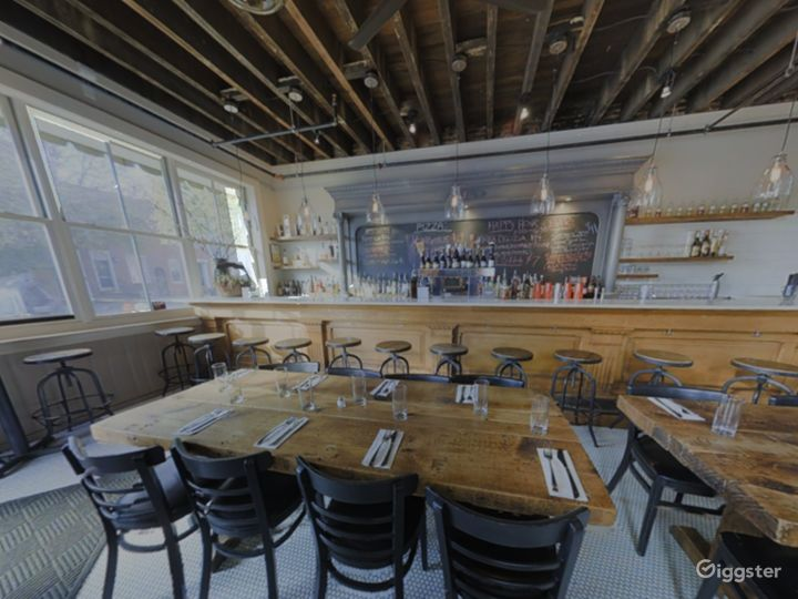 Rustic Private Dining Space with Bar in Baltimore Photo 2