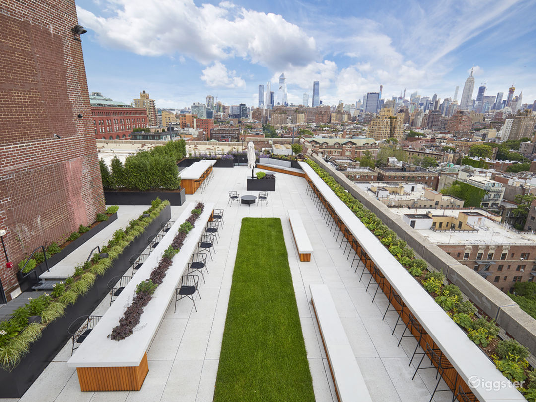 Modern Rooftop Space with Views Photo 2