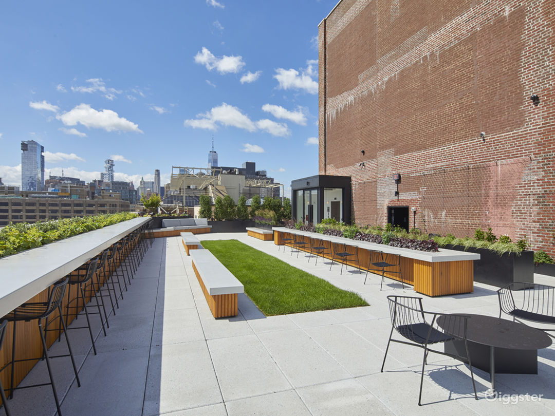 Modern Rooftop Space with Views Photo 5