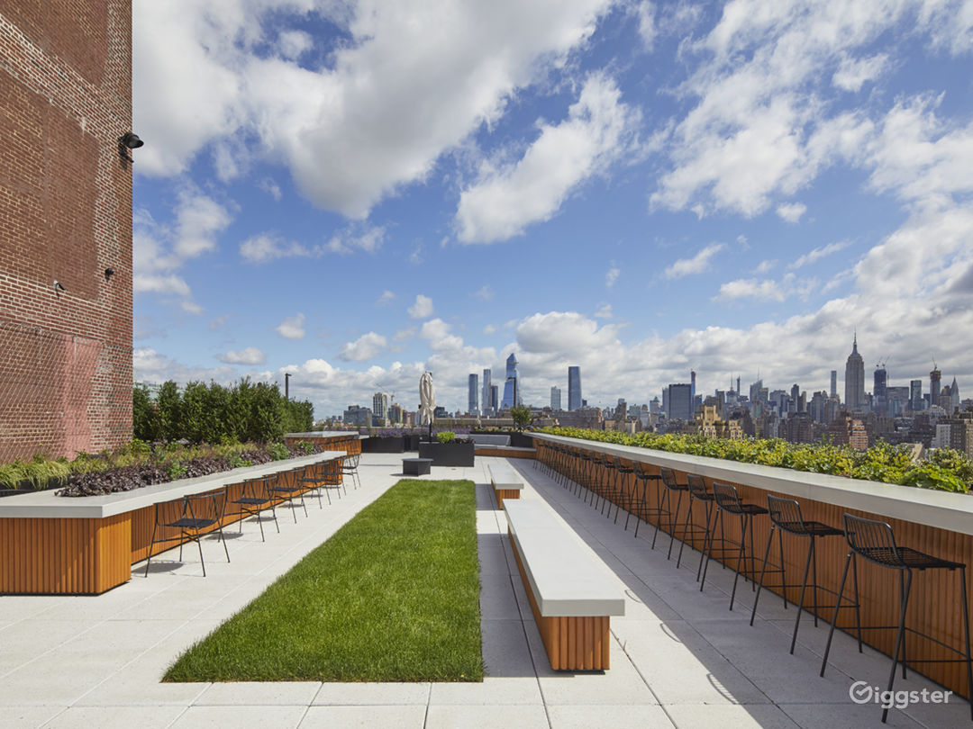 Modern Rooftop Space with Views Photo 3