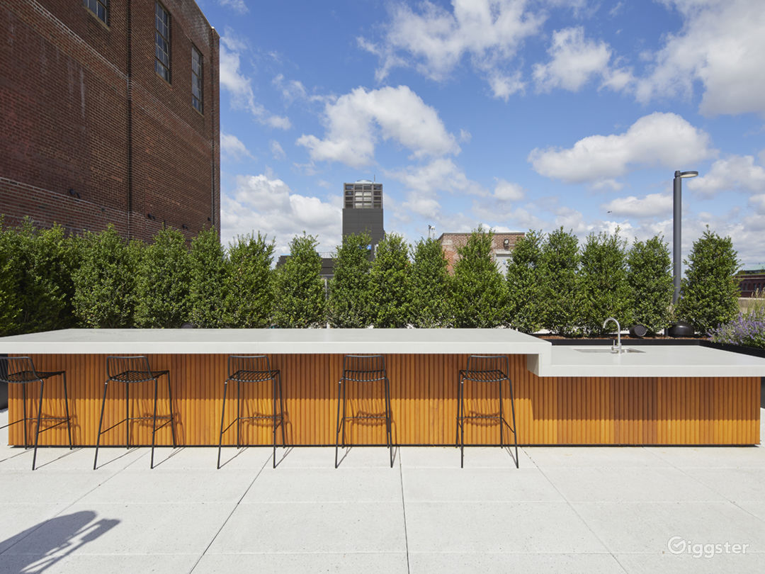 Modern Rooftop Space with Views Photo 4