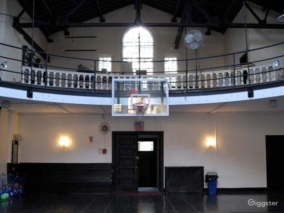 School basketball gym facility: Location 4241 Photo 1