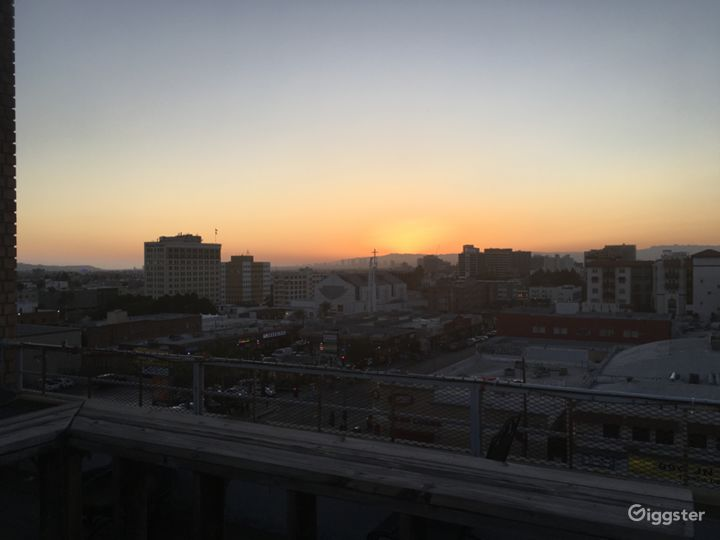 Rooftop deck with Downtown LA / Hwood Hills views  Photo 3