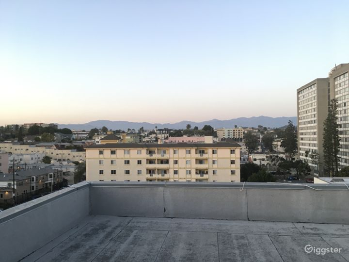 Rooftop deck with Downtown LA / Hwood Hills views  Photo 4
