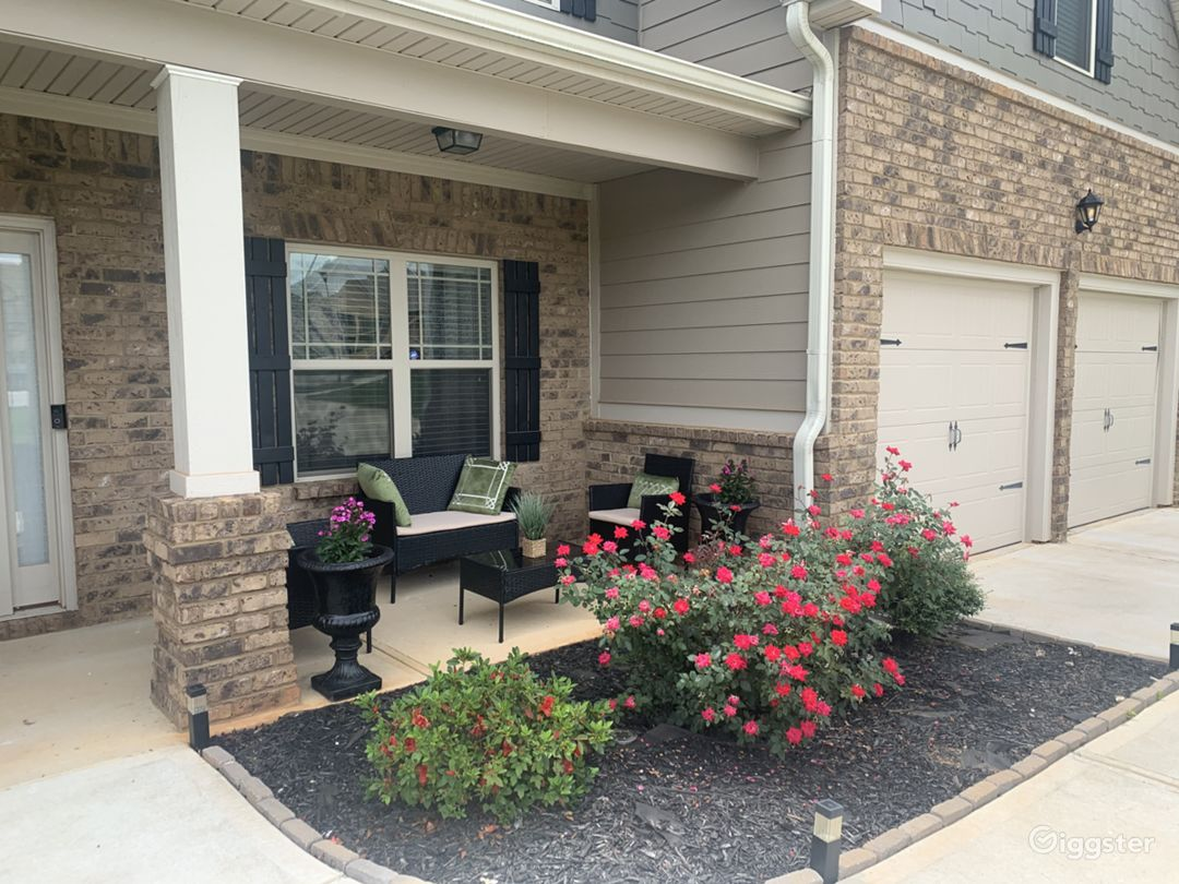 Front porch area.