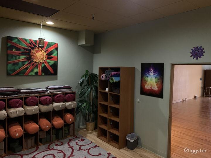 studio back room