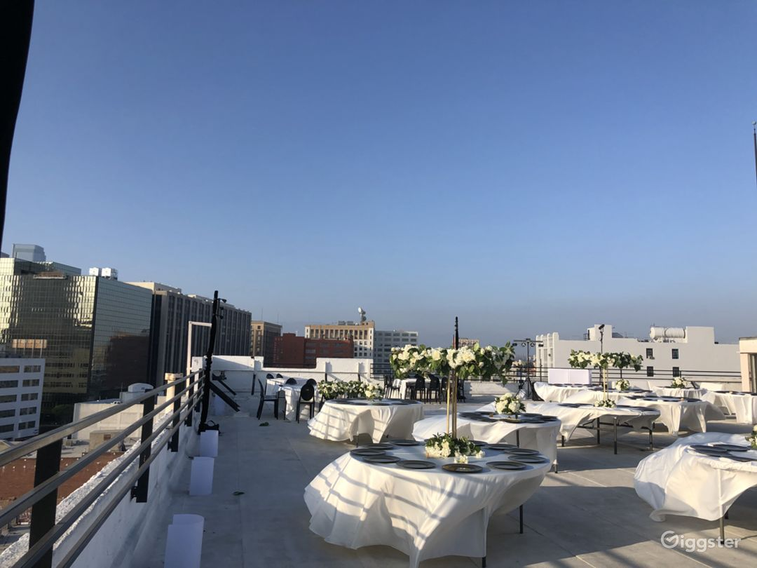 Skyline Rooftop with DTLA view 12,000sf Photo 4