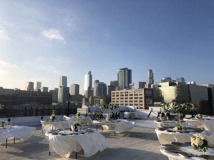 Skyline Rooftop with DTLA view 12,000sf Photo 3