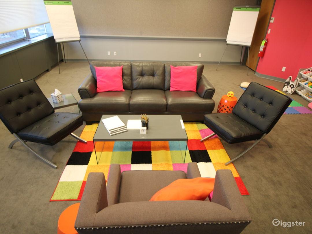 Conference Room w/Living Room Set-up