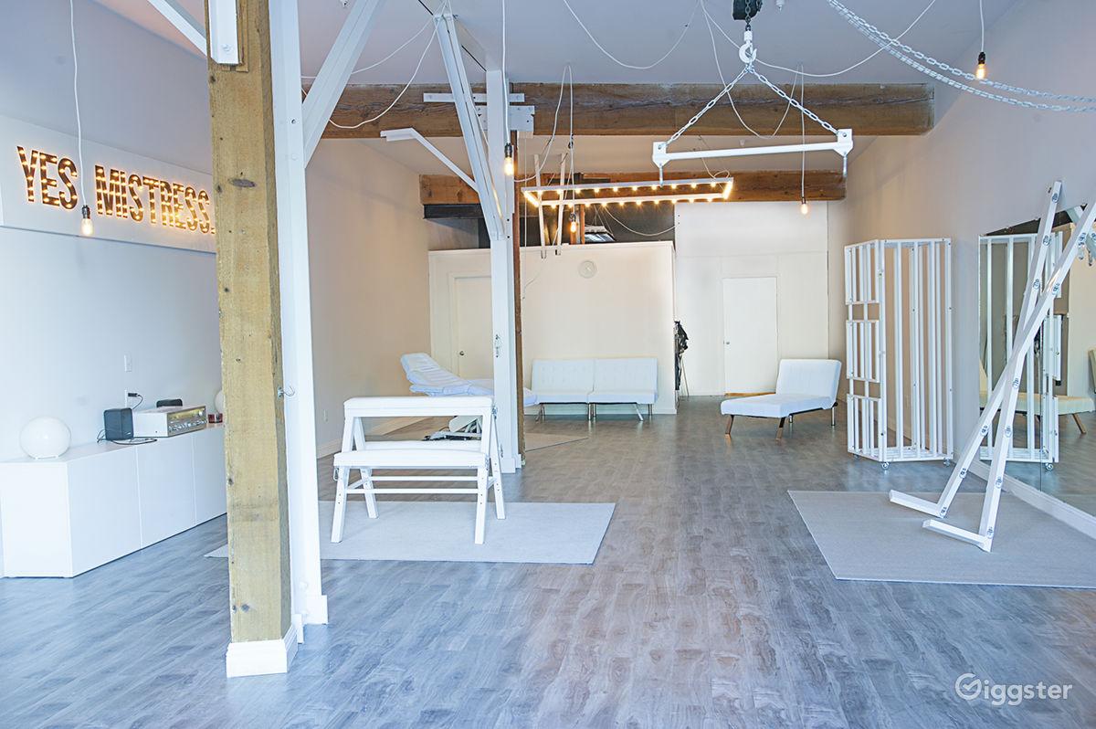 Rent DTLA White Dungeon Photography Studio (studio) for film ...