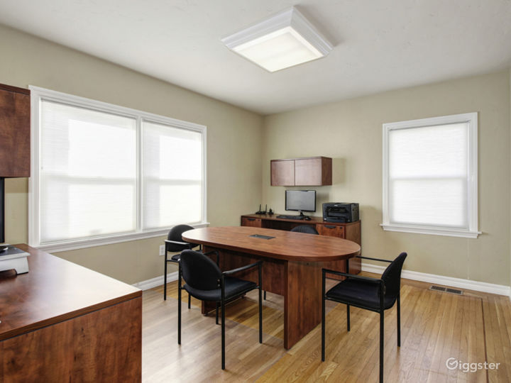 Suite 201 - Furnished with 2 executive style desks office Photo 5