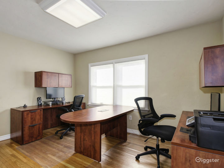 Suite 201 - Furnished with 2 executive style desks office Photo 3