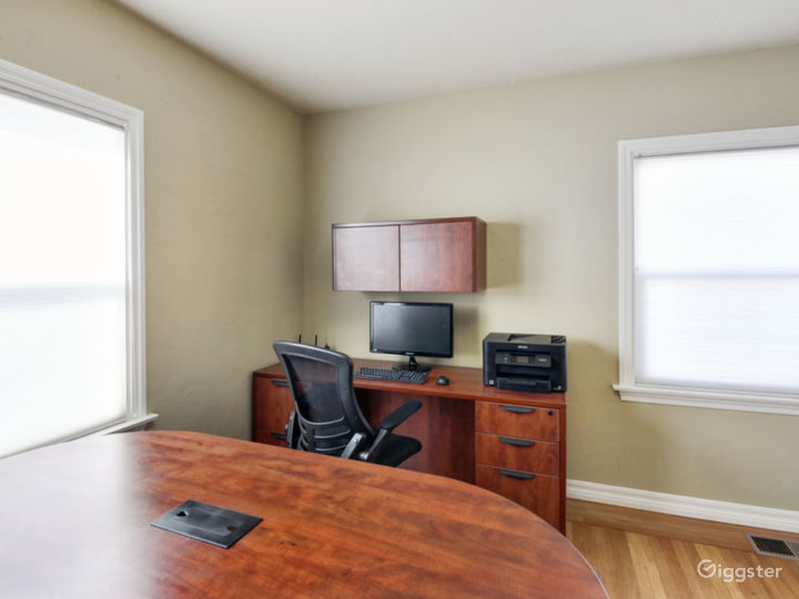 Suite 201 - Furnished with 2 executive style desks office Photo 4