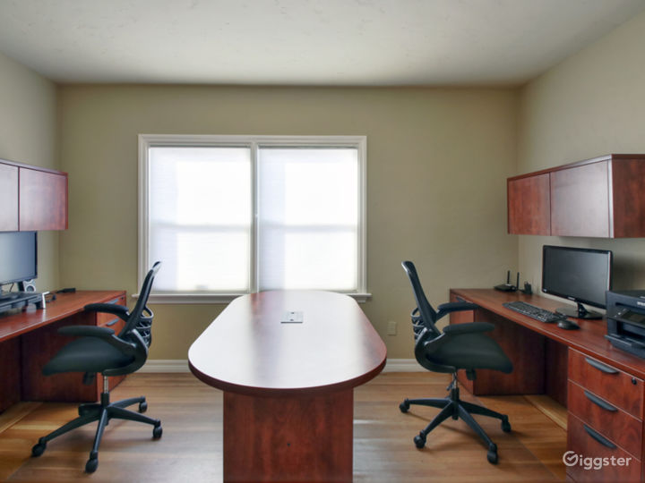 Suite 201 - Furnished with 2 executive style desks office Photo 2