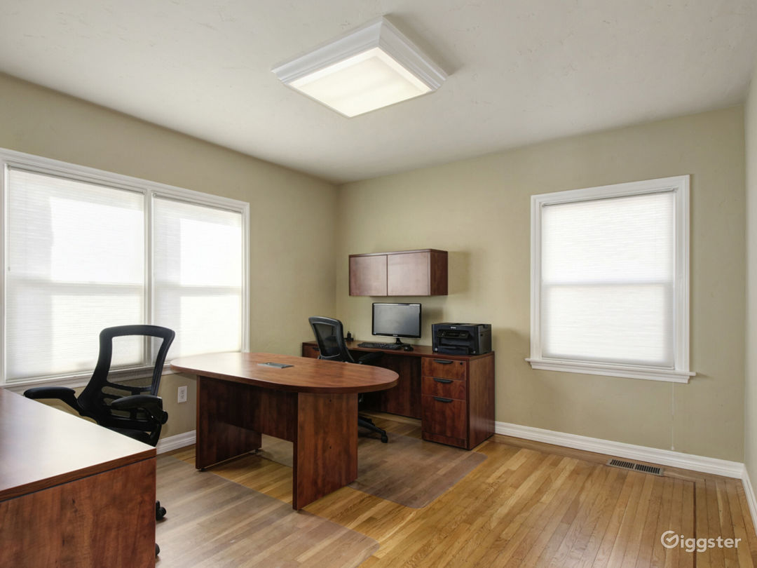 Suite 201 - Furnished with 2 executive style desks office Photo 1