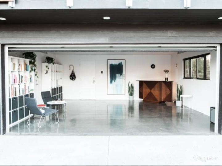 Mindful Minimalist Hotel Event Venue with Lobby and Roof Deck