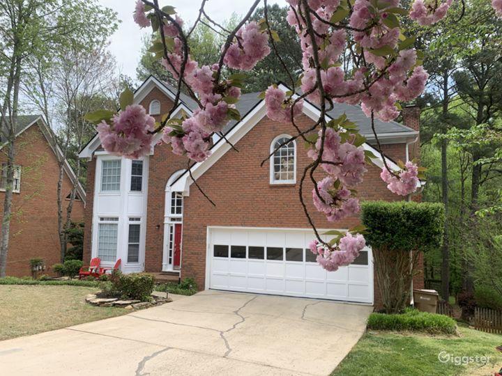Beautiful suburban house