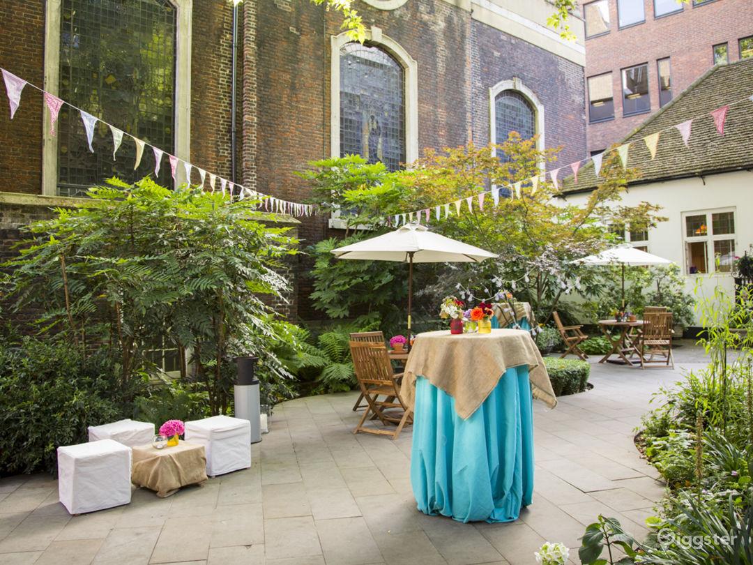 Urban Garden in the City of London