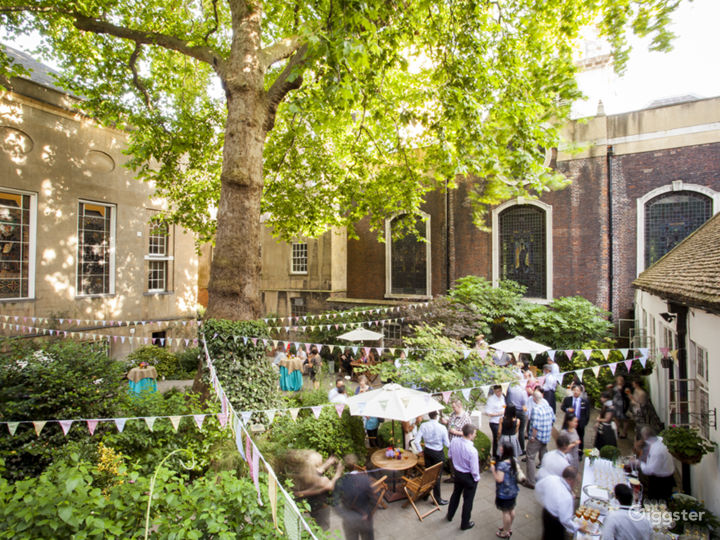 Summer Garden Party in the City