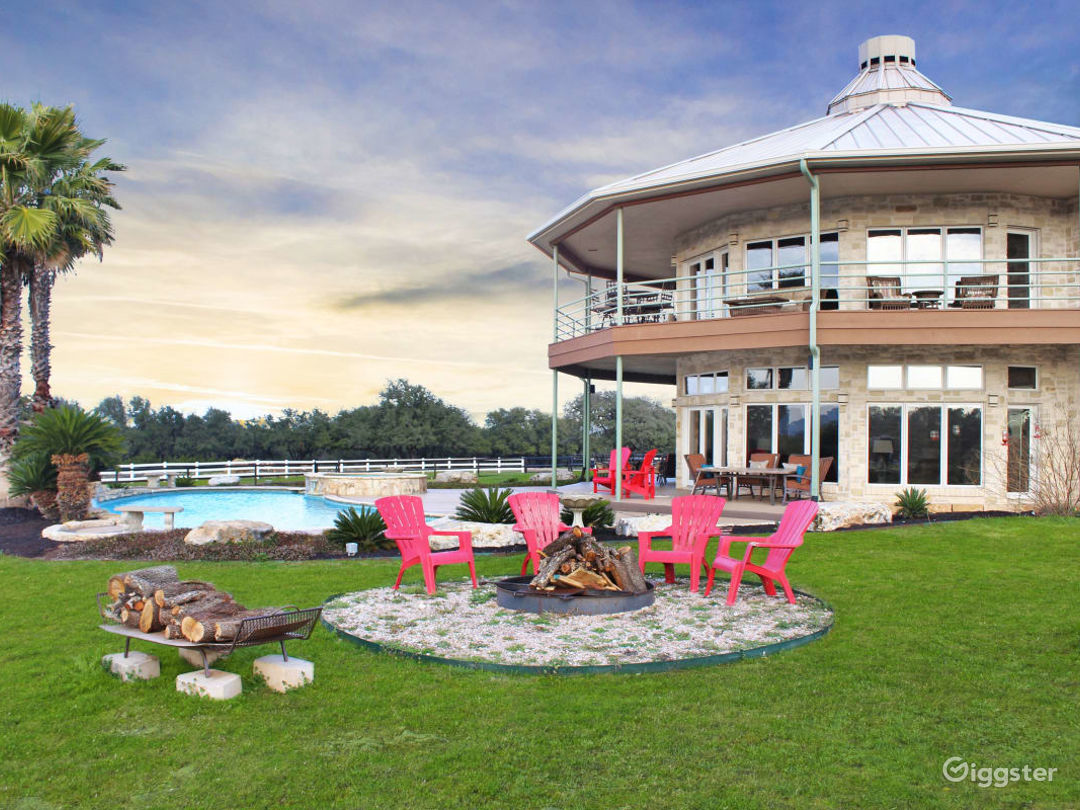Rustic Yet Refined, Spacious and Luxurious Texas Hill Country Ranch Events Venue Photo 1