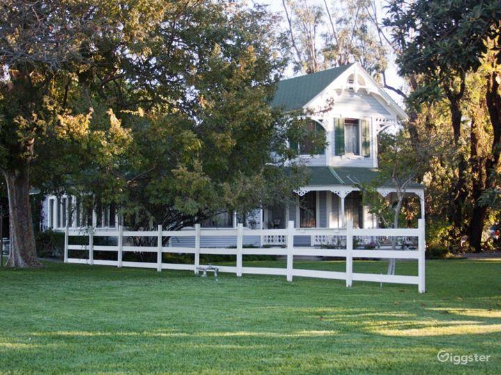 Victorian Farmhouse w/ Cornfield on 6 Acre Farm Photo 2