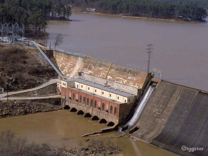 Jackson Hydroelectric Dam Photo 3