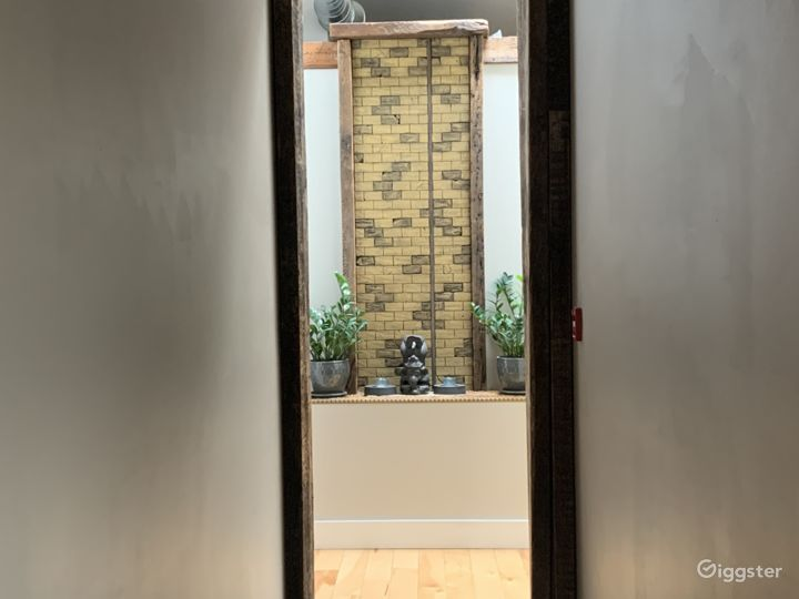 hallway to smaller studio spaces (contact for more info if interested in those spaces)