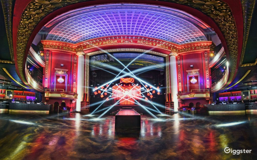 rent historic dtla theatre with lighting system bar club lounge