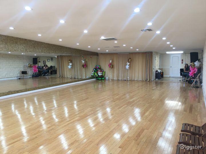 Main ballroom floor!