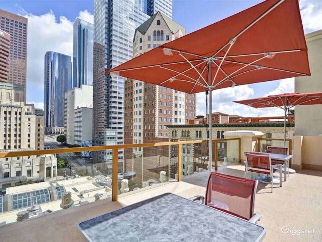 Downtown LA Rooftop Patio Photo 1