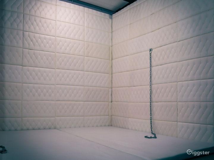PADDED WHITE ROOM   ASYLUM   VIDEO PRODUCTION SET Photo 2