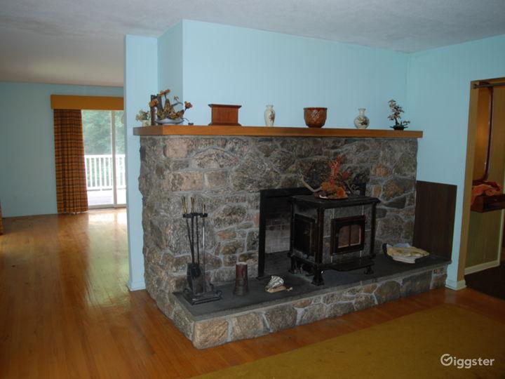 Stone fireplace #2