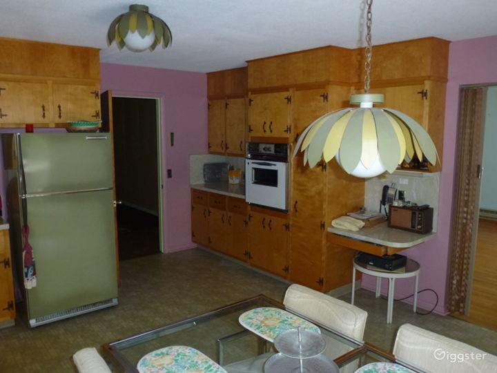 original working kitchen